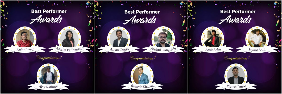 Best Perfomer Awards