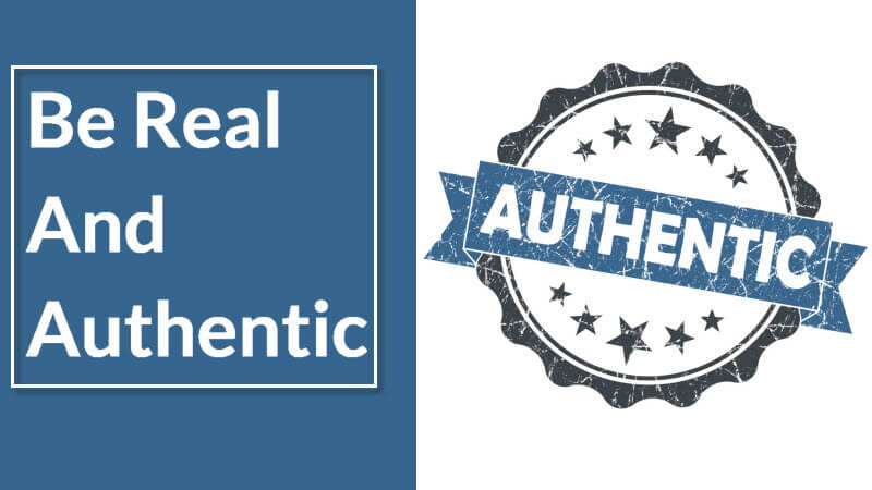 Real and Authentic