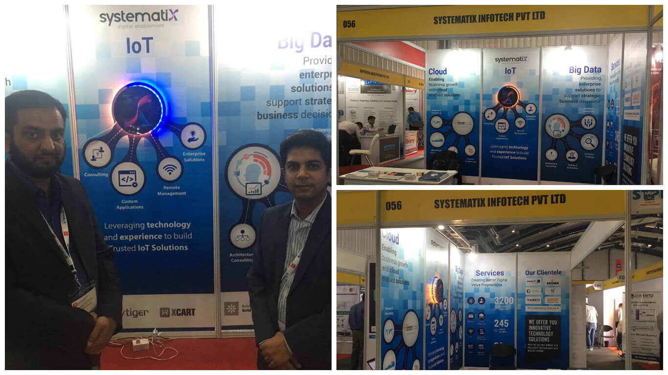 Systematix at CeBIT India 2016