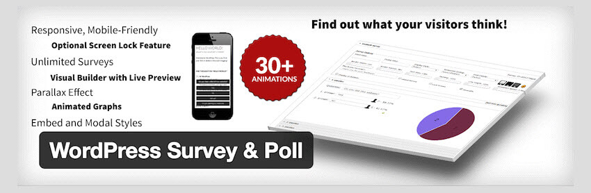 WordPress Survey-Poll Plugin