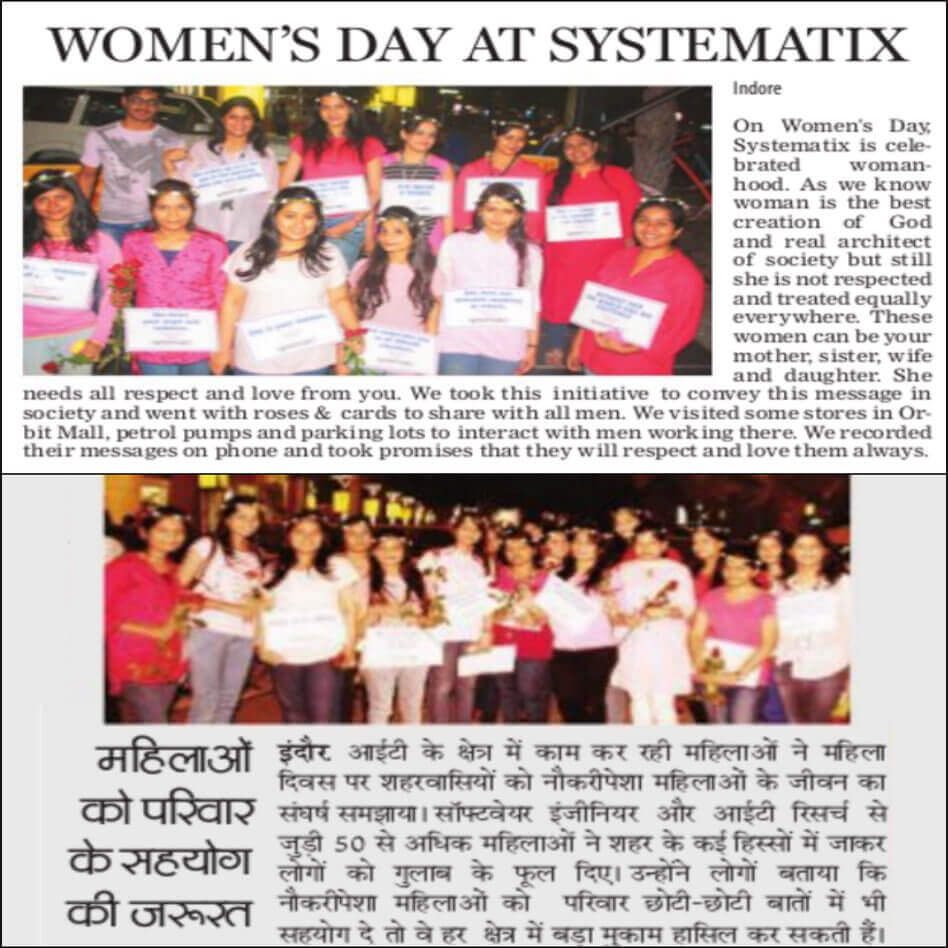 systematix campaign in newspaper