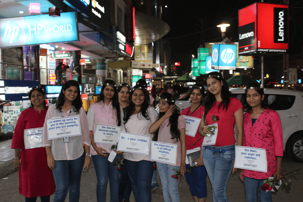 women's day campaign at systematix